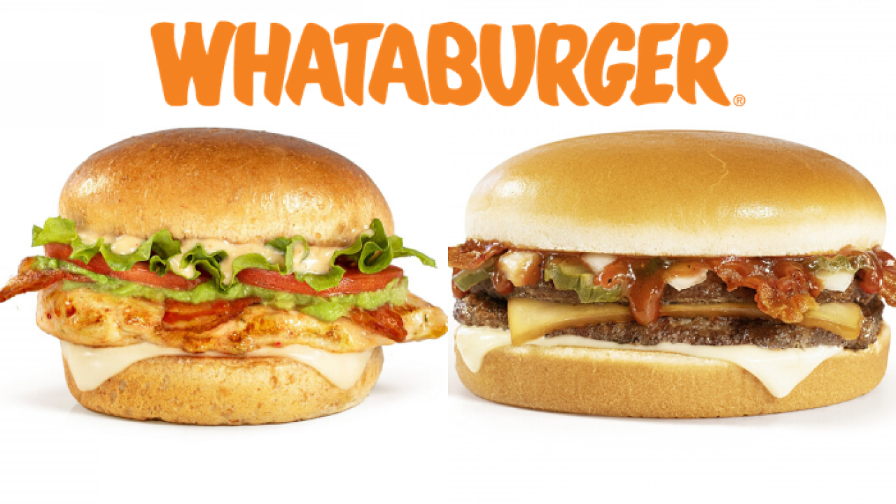 Whataburger burgers