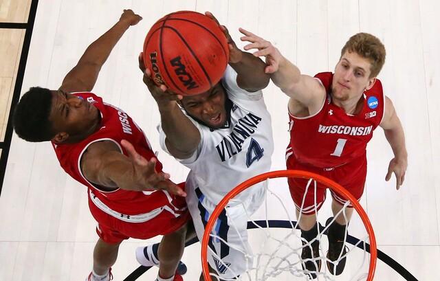 PHOTOS: Villanova stunned 65-62 by Wisconsin in NCAA