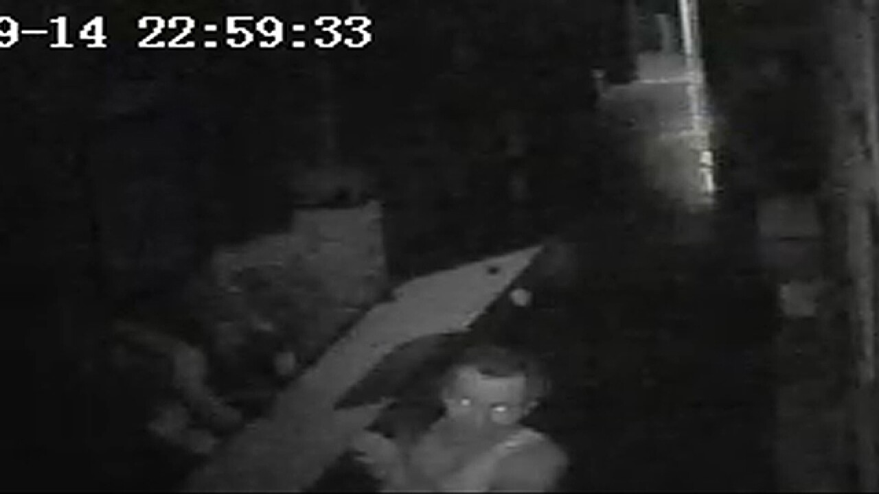 VIDEO: Man wanted in Parma church break-in