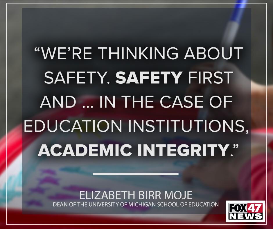 Dr. Elizabeth Birr Moje, dean of the University of Michigan School of Education