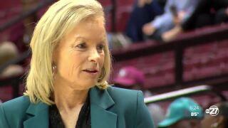 FSU head coach women's basketball, Sue Semrau