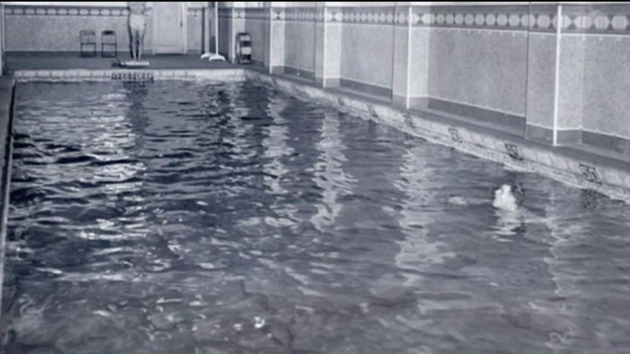 Richmond's most famous pool, built 90 years ago – under the AltriaTheater