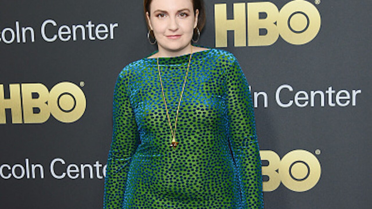 Lena Dunham says she feels 'joyous' being heavier