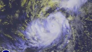 Hurricane Irma forms in Atlantic