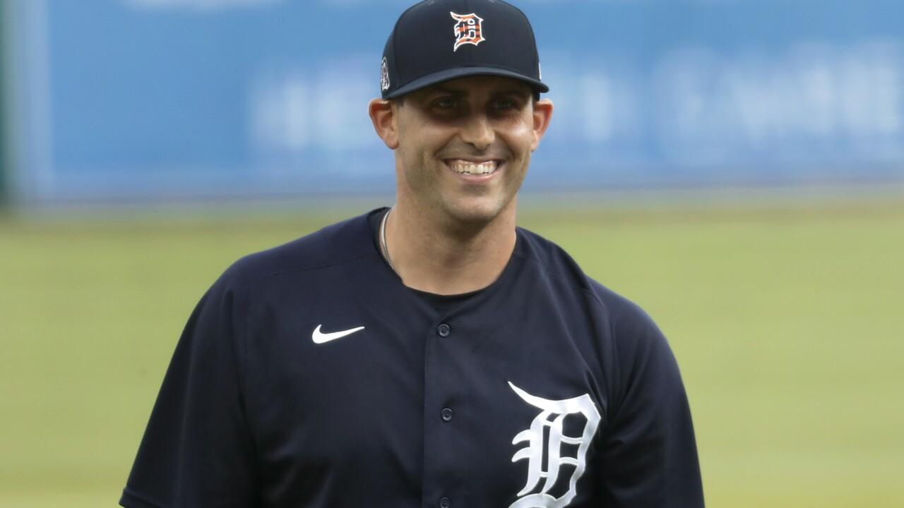 Matt Boyd honored to be Tigers starter for opener vs Reds
