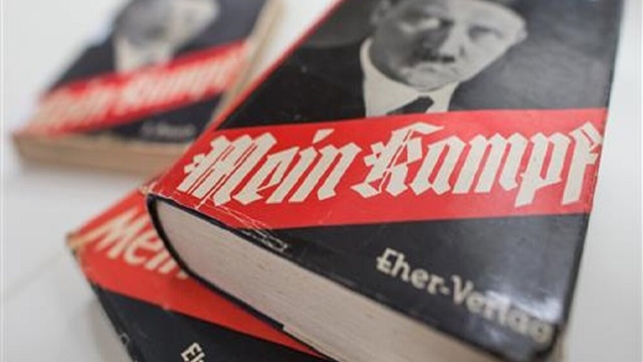 Publisher: 'Mein Kampf' proceeds to aid Holocaust survivors
