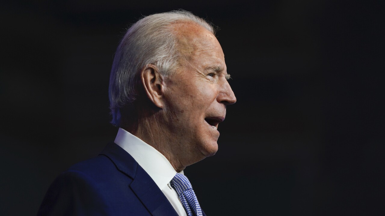 Joe Biden to deliver Thanksgiving address Wednesday, expected to preach unity