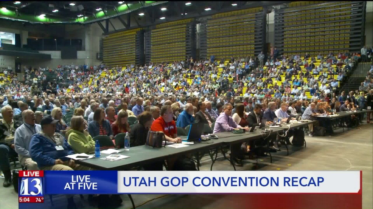 Utah GOP 'civil war' appears to be winding down as delegates pick new leadership