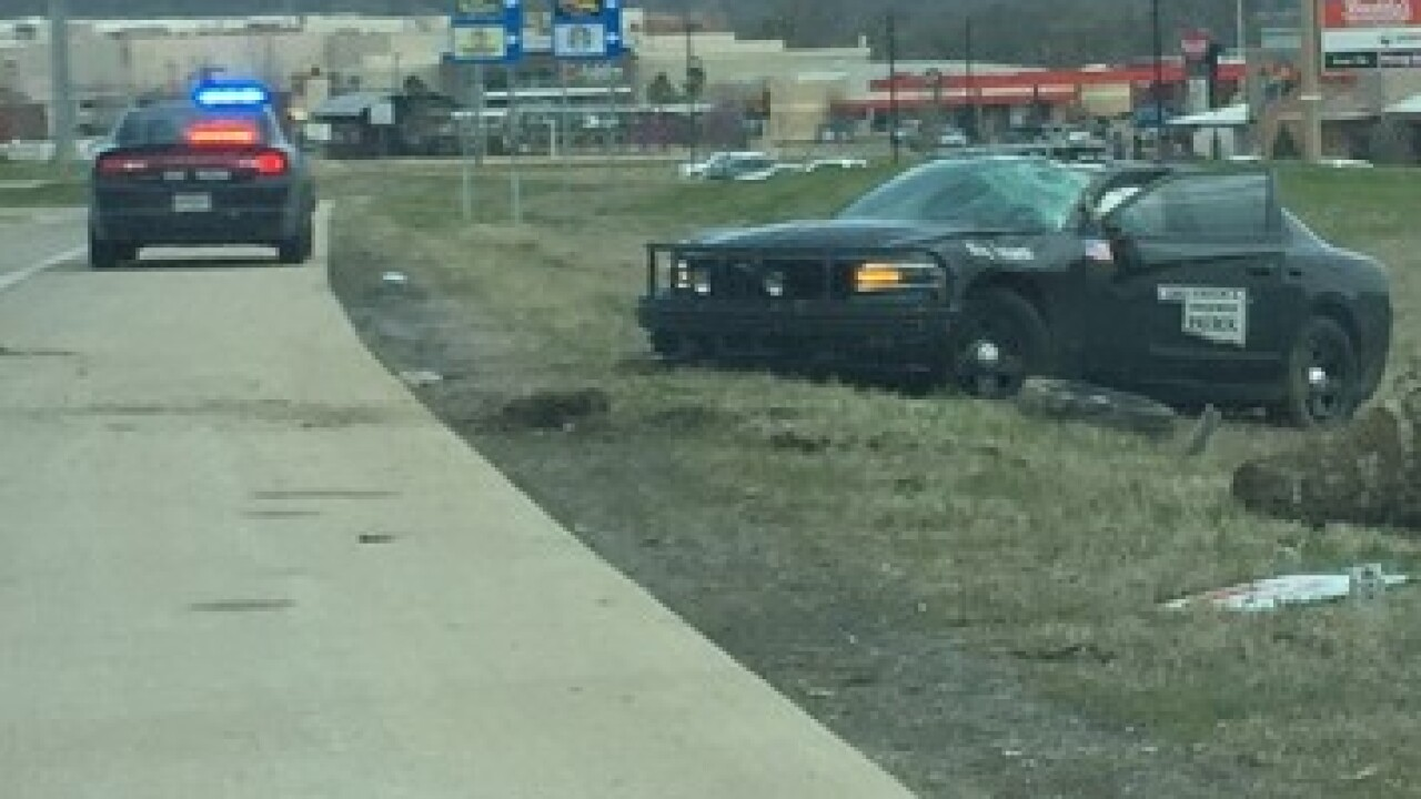 OHP Trooper involved in crash during pursuit