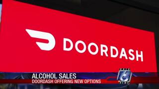 Doordash will start home delivery of alcoholic beverages