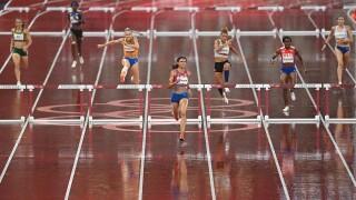 McLaughlin, Muhammad set for 400m hurdles final showdown