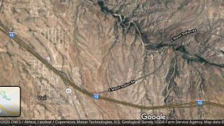 A motorist died in a single-vehicle wreck Friday on westbound Interstate 10 in Vail.