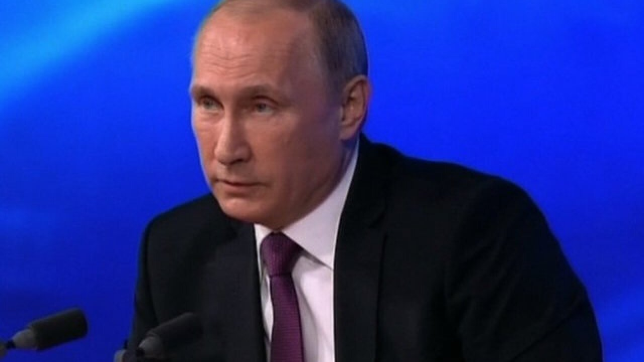 Russian state not involved in hacking, Putin says
