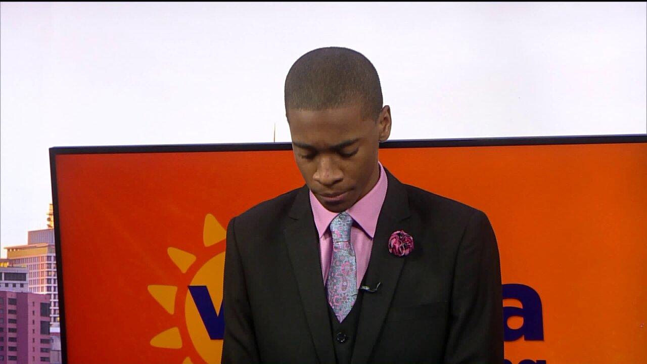 Elijah Coles-Brown commemorates Martin Luther King Jr. with excerpt from famousspeech