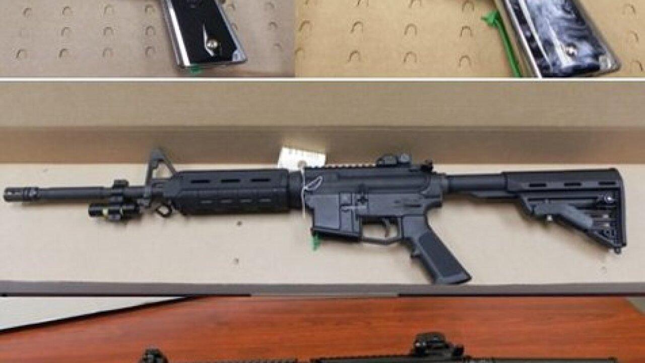 Feds seize cash, drugs, guns in cartel takedown