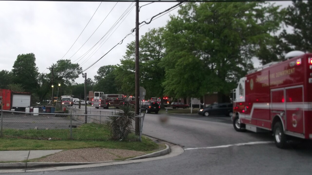 Firefighters respond to reports of gas odor at Carver Intermediate