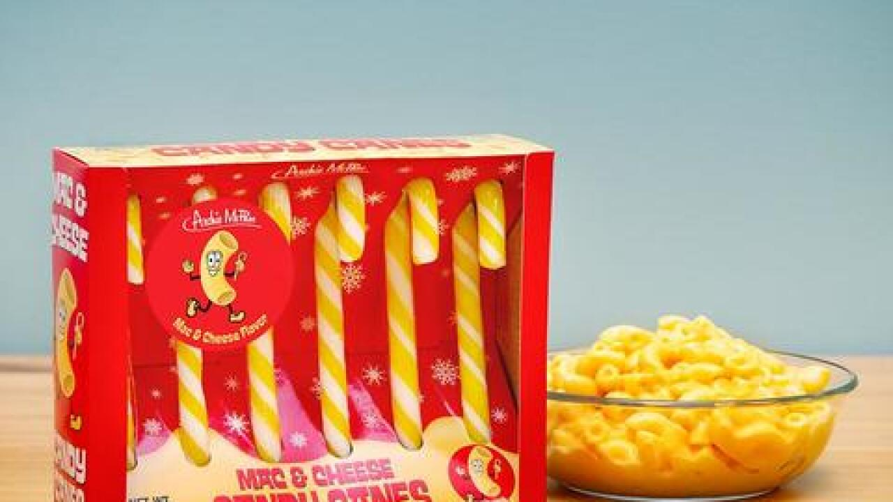 Store selling mac & cheese flavored candy canes