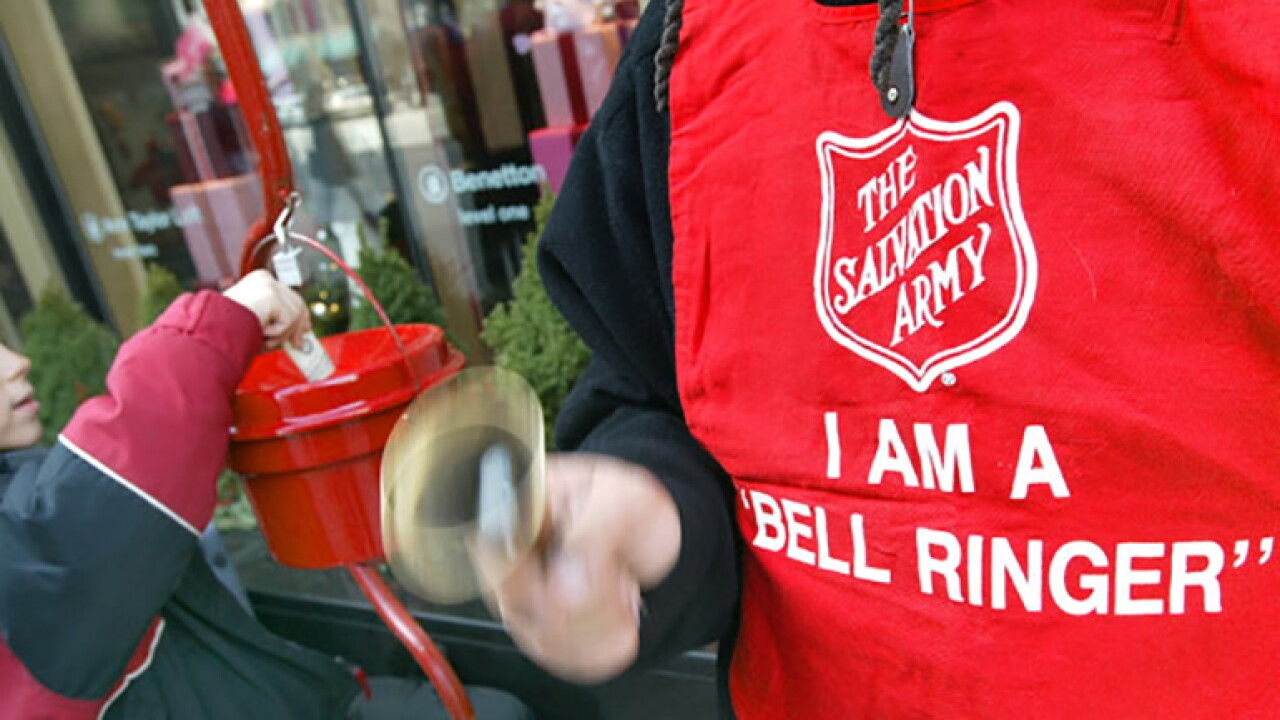 I am a Bell Ringer!  Salvation Army Red Kettle Campaign