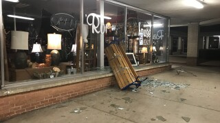 Businesses damaged near 51st and Peoria
