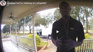 Lafayette Fed Ex Message