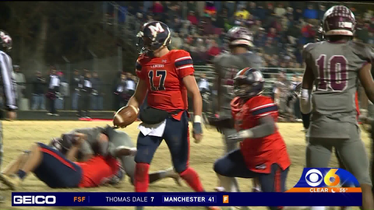 Manchester uses 2nd half surge to beat Thomas Dale41-7