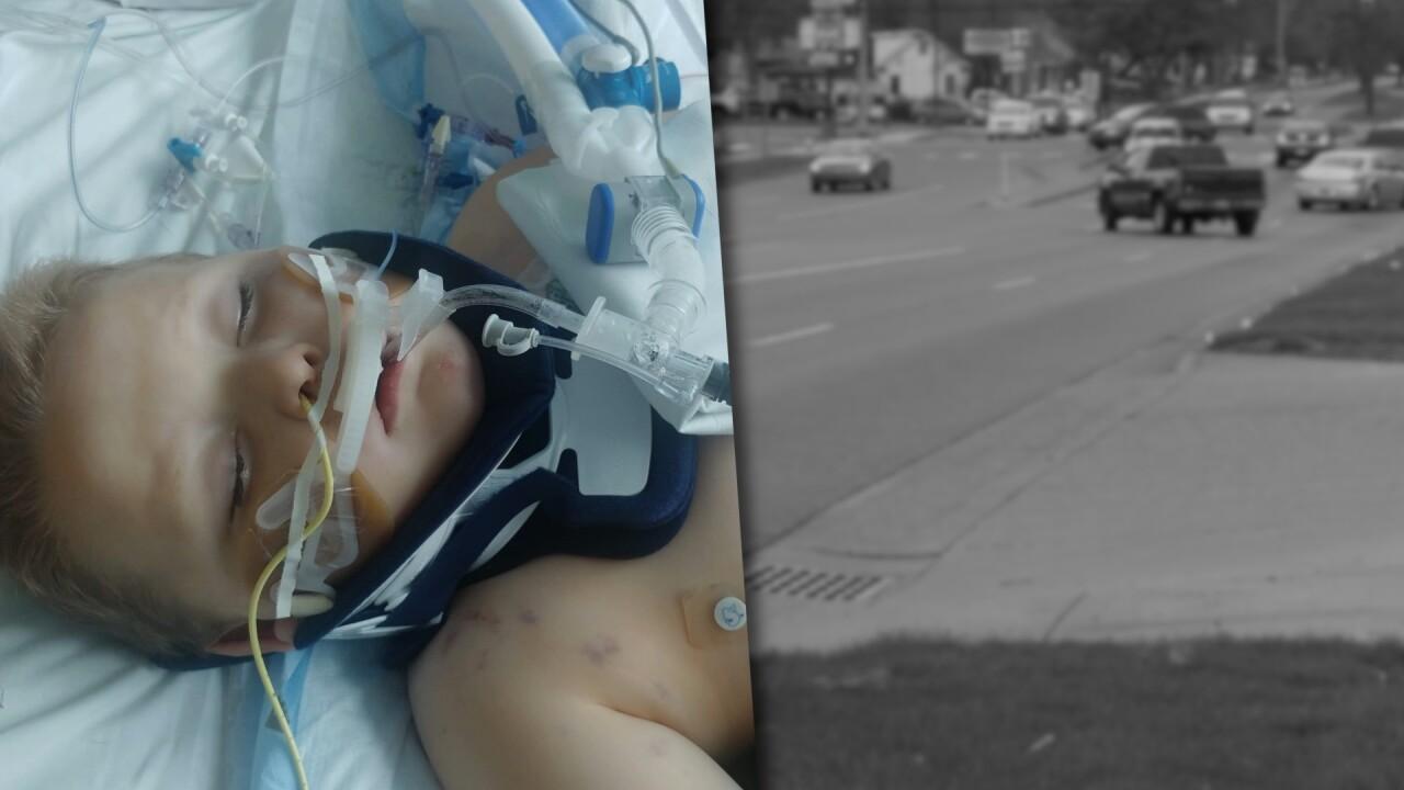 Wyoming 6 year old crash injurede