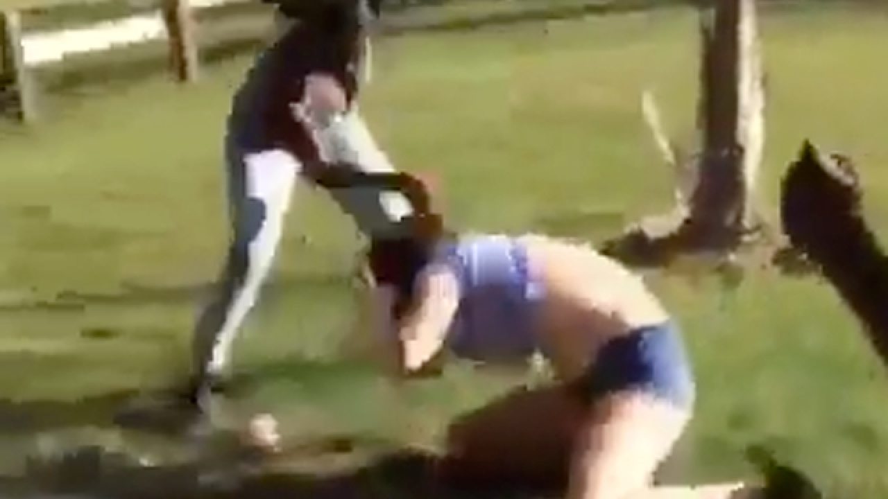 Girl arrested after beating up classmate in Fla.