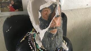 Falfurrias reeling from shrine defacement