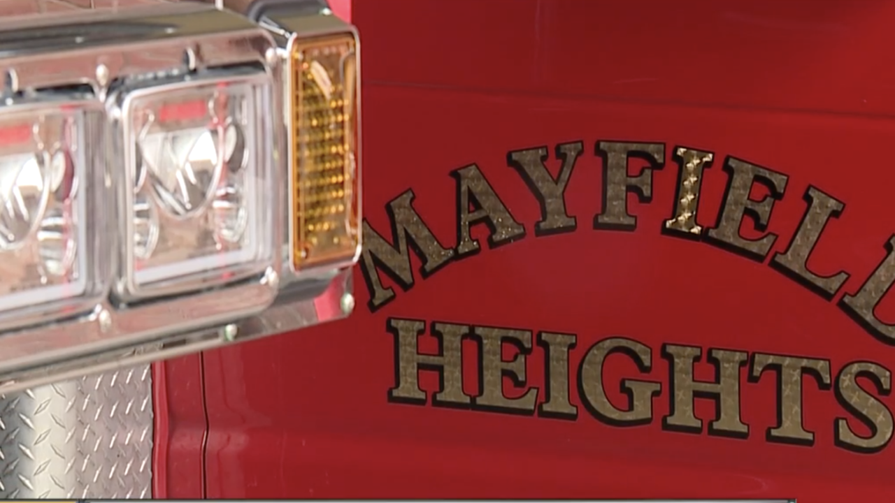 Mayfield Heights Fire Department.