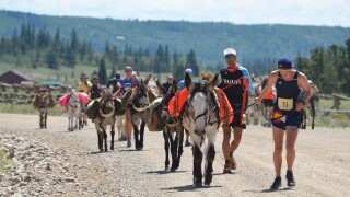 2019 Pack Burro Racing World Championships group shot