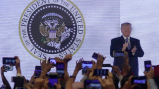 Washington Post: Former Republican designed fake presidential seal that appeared behind Trump