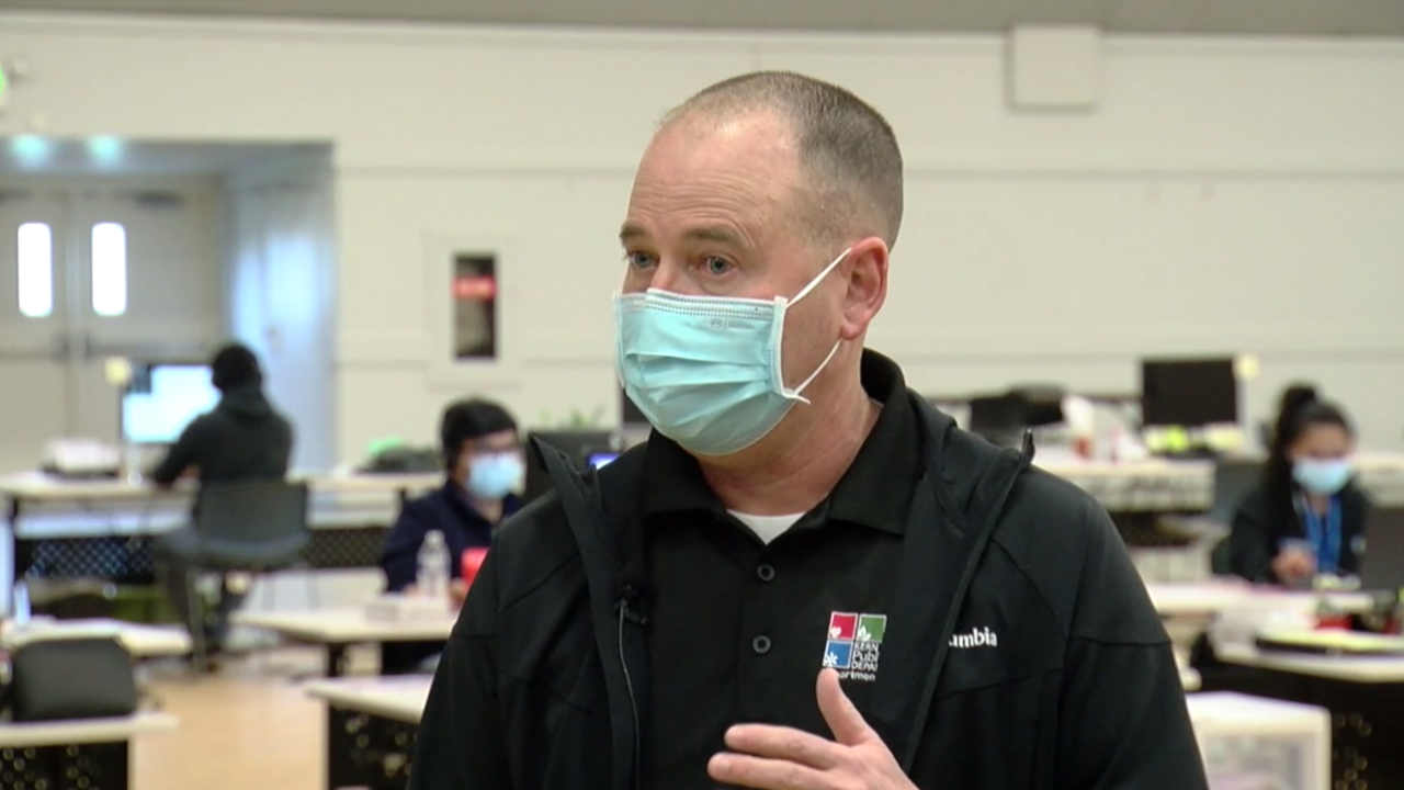 Matt Constantine, Kern County Public Health Director (FILE)