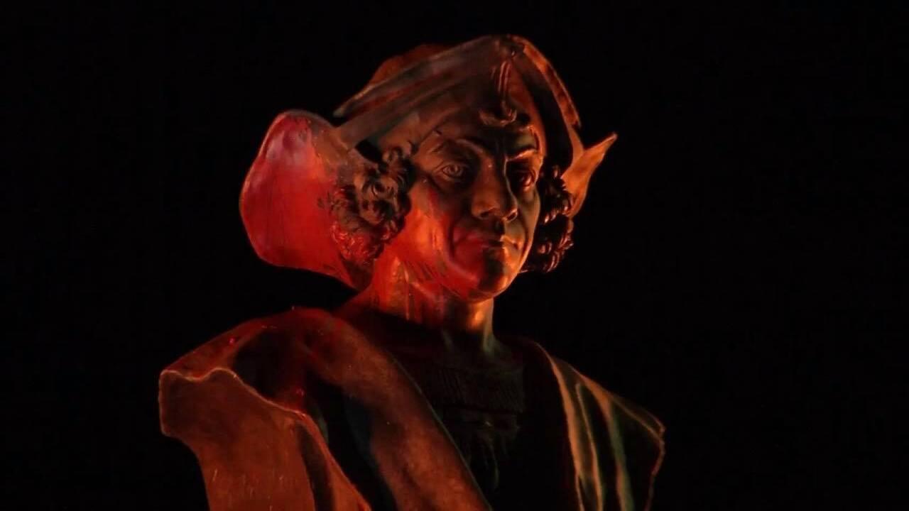 Christopher Columbus statue in Pueblo vandalized overnight Sunday