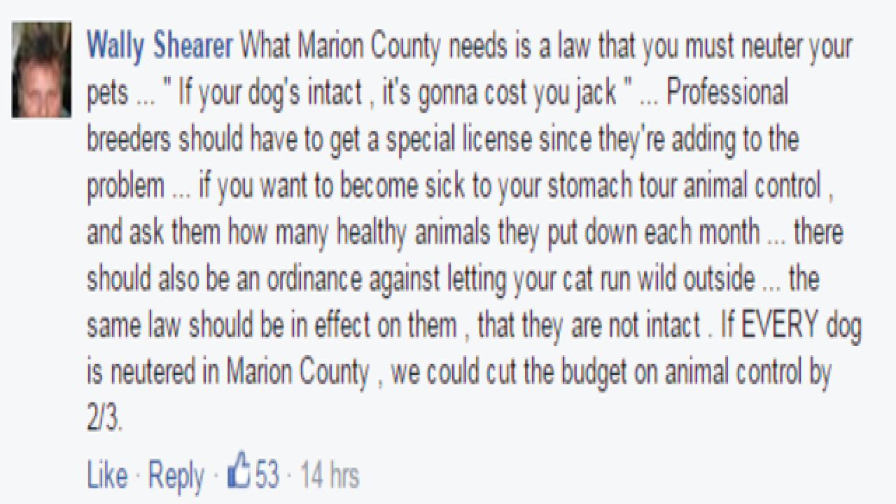 YOU REACT: New rules for Marion Co. dog owners