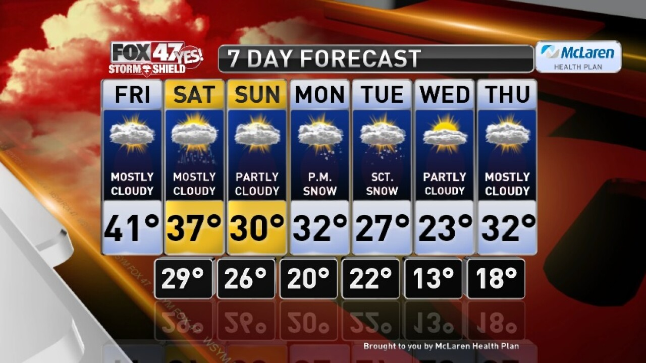 Claire's Forecast 12-13