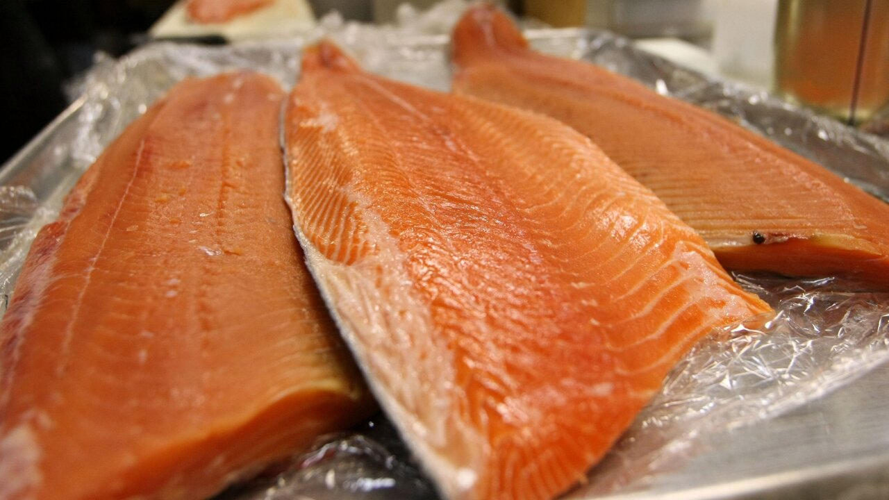 Company recalling dozens of smoked salmon products due to possible health risk