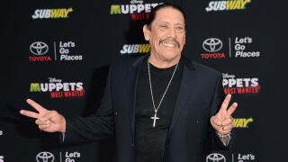 Danny Trejo saves a trapped baby from an overturned car