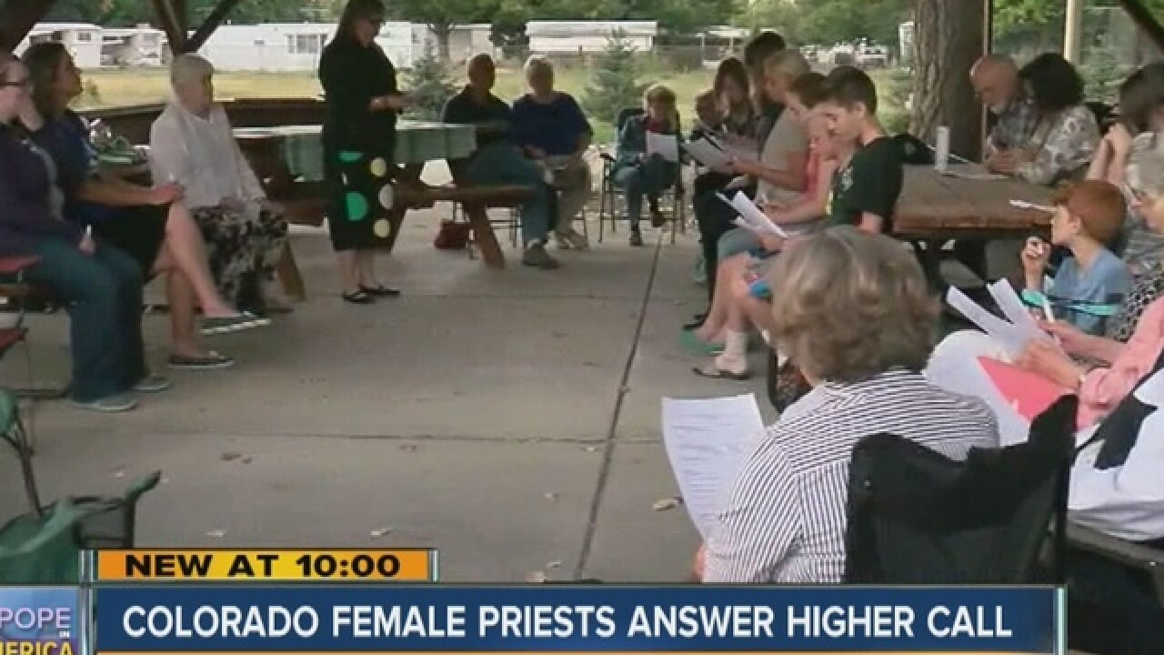 Colorado women priests call for change in church