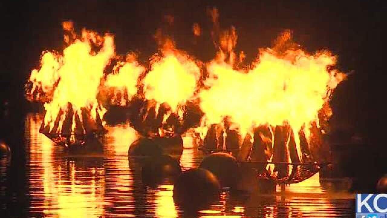 WaterFire KC, other weekend events cancelled due to rain