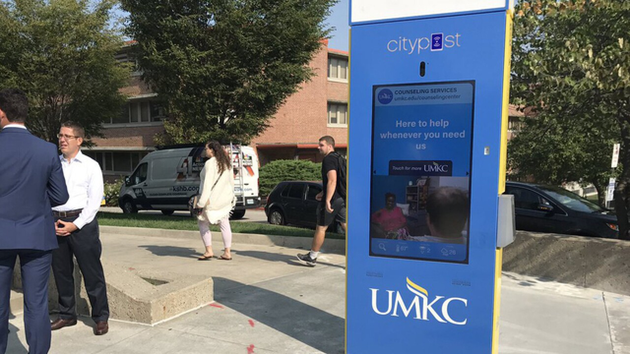 UMKC adds smart kiosks to campus
