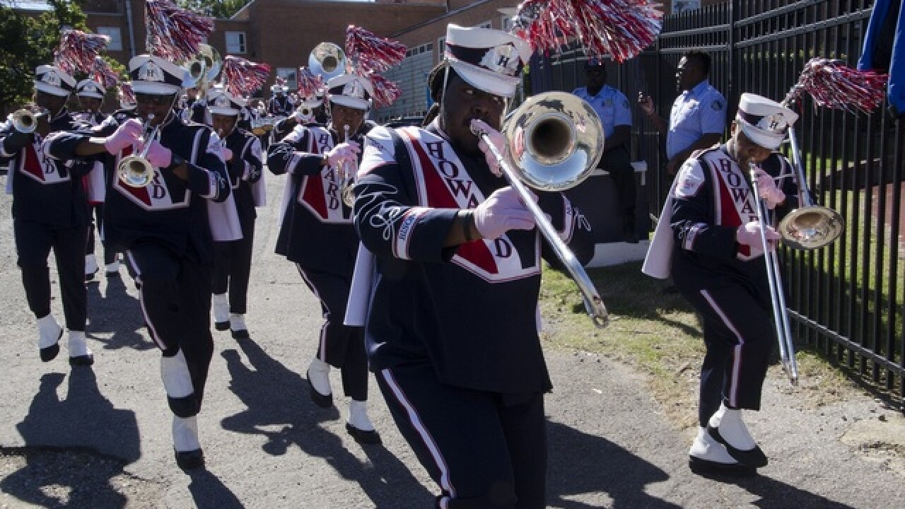 Howard Marching Band to perform at Vegas high school football game