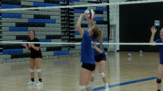 Freshman setter Addie Swanson sets Gallatin volleyball up for success