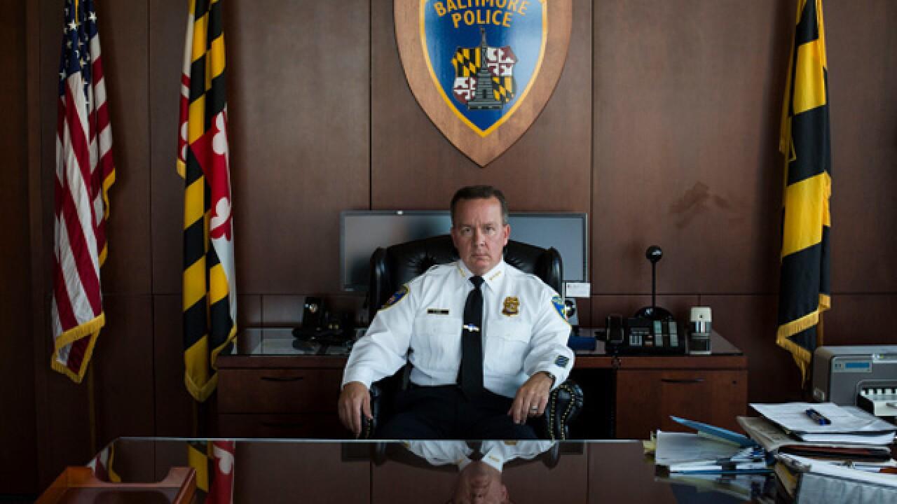 Pugh replacing Police Commissioner Kevin Davis