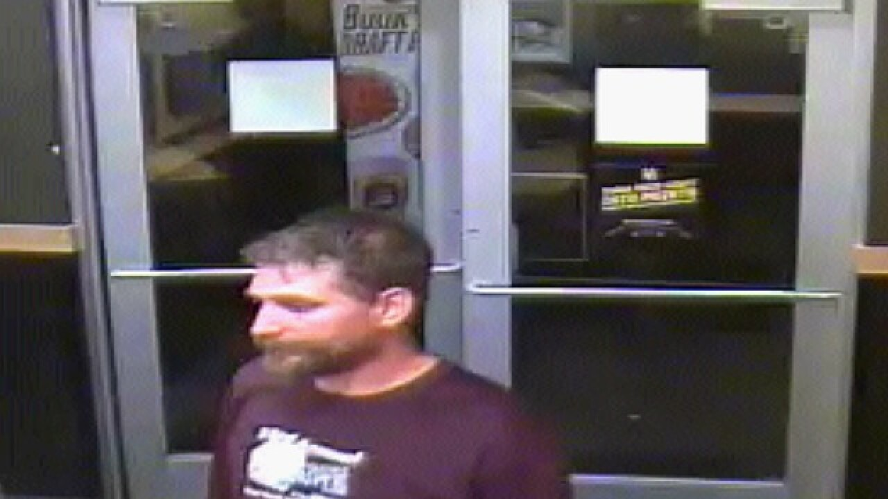 MPD searching for Buffalo Wild Wings robber