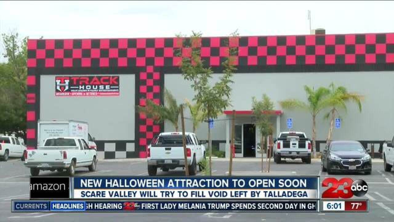 Talladega Frights closed, new attraction 'Scare Valley' to open October 12
