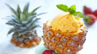 3-ingredient Pineapple-mango 'nice Cream' Is So Easy To Make