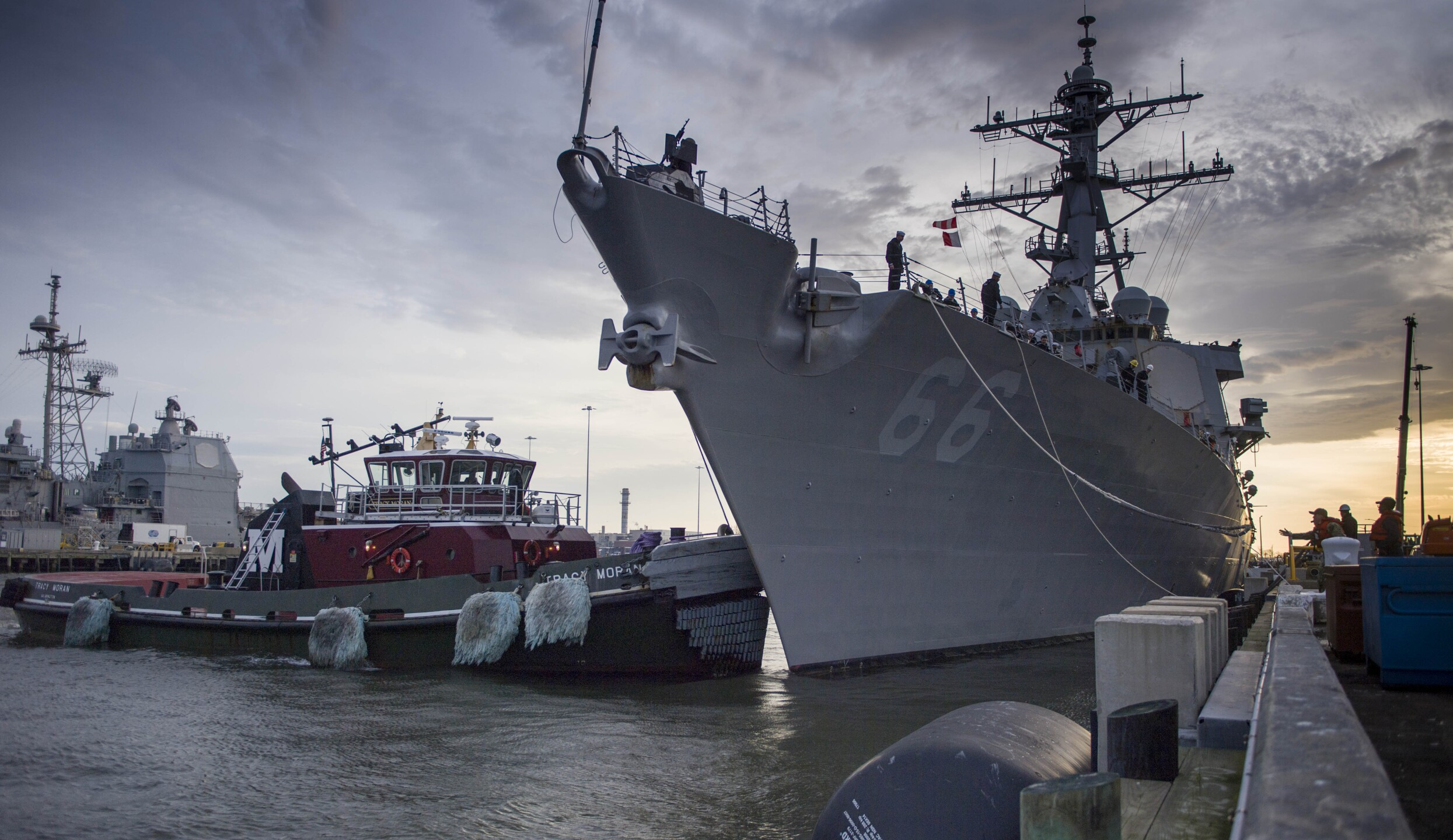 Photos: Guided-missile destroyer USS Gonzalezdeploys