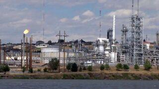 Calumet refinery in Great Falls