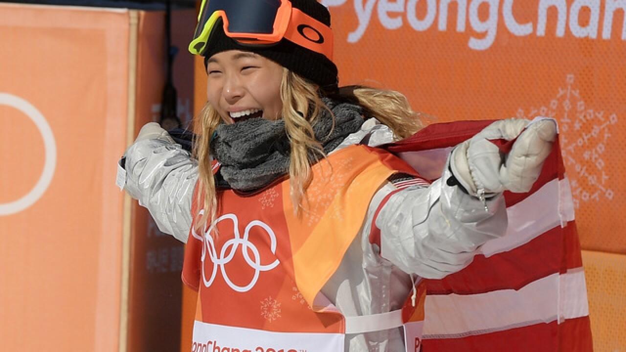 American Chloe Kim wins halfpipe gold