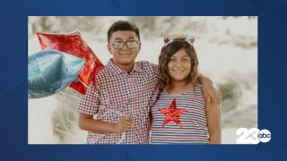 Lilliana and Christian Santos, Arvin, July 19, 2021